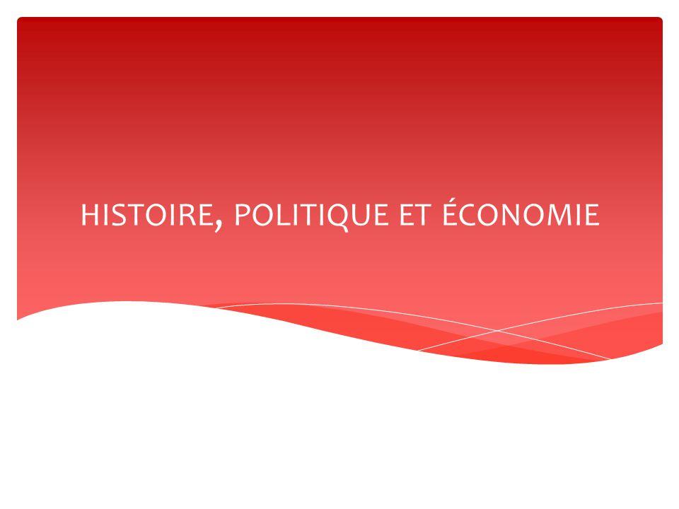 histoire, politique et économie