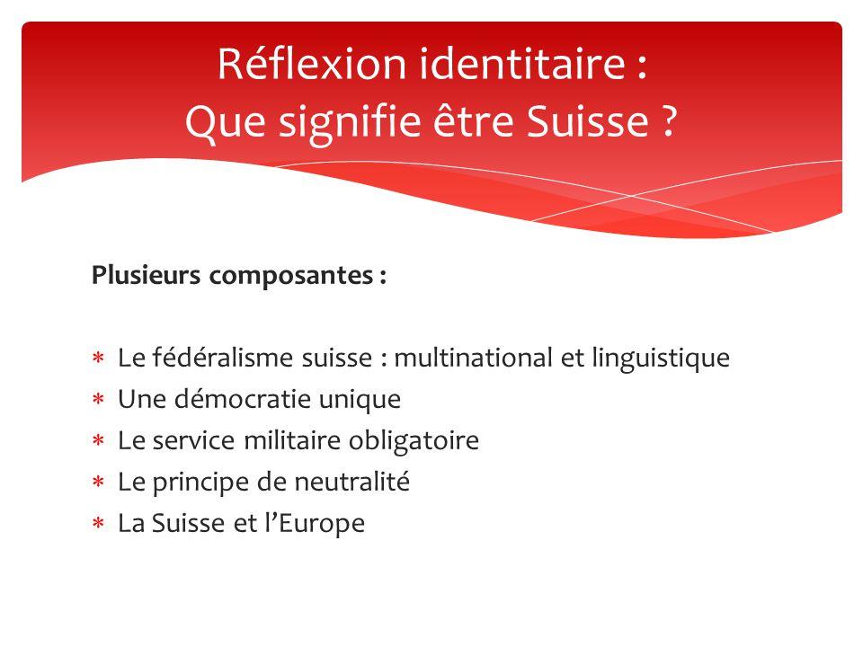 Réflexion identitaire : Que signifie être Suisse
