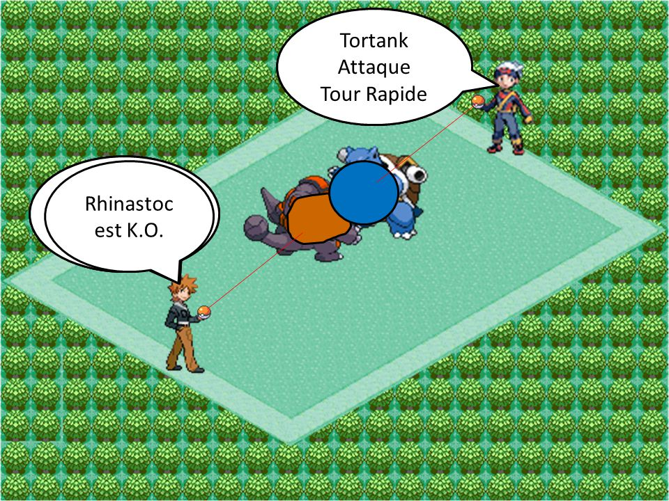 Tortank Attaque. Tour Rapide. Tortank. Attaque. Tour Rapide. Rhinastoc. Attaque. Tunnelier. Rhinastoc.