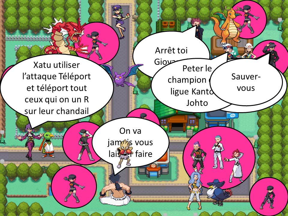 Peter le champion de la ligue Kanto et Johto