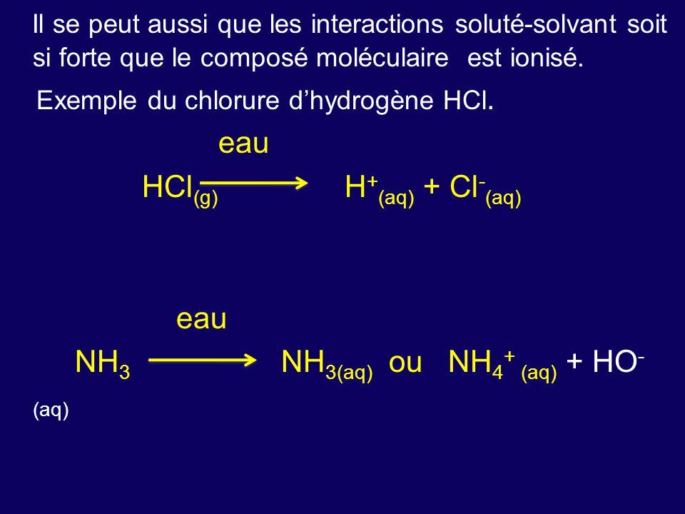 HCl(g) H+(aq) + Cl-(aq)