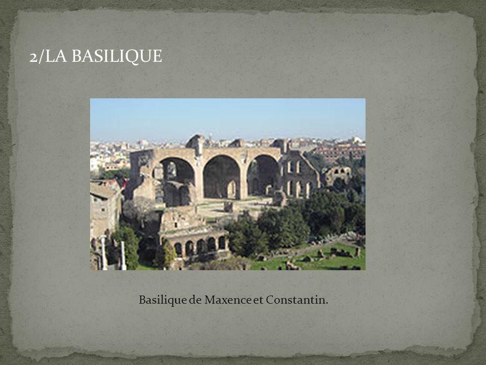 Basilique de Maxence et Constantin.