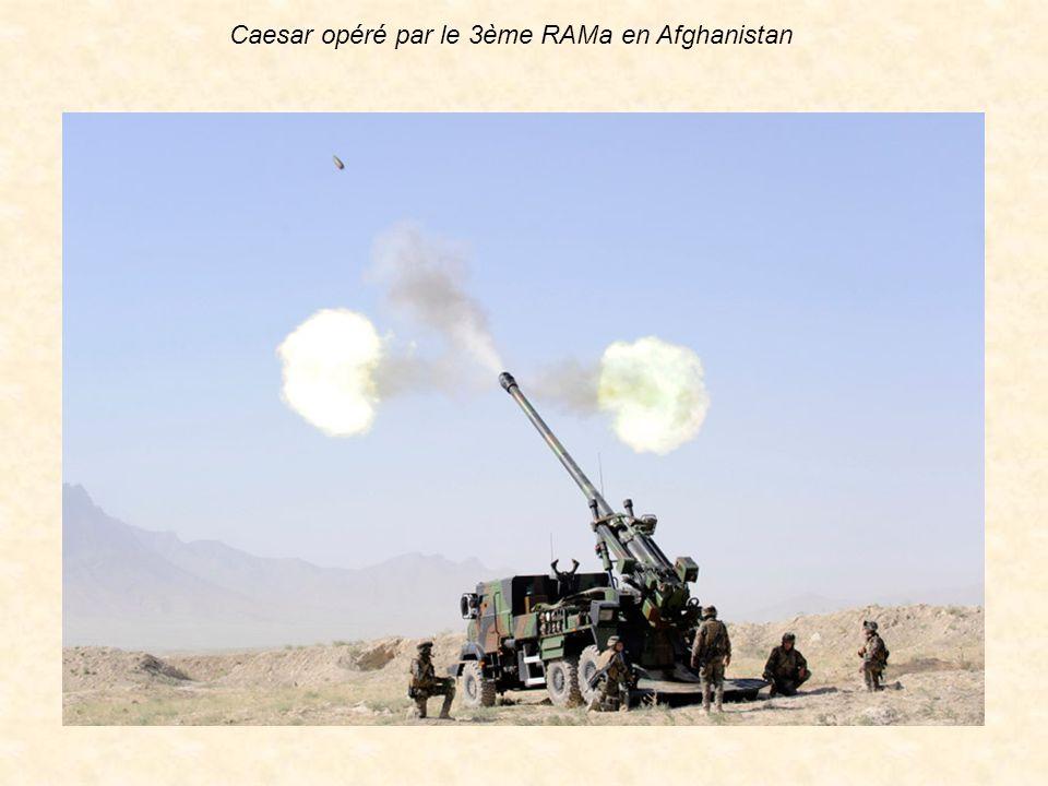 Caesar opéré par le 3ème RAMa en Afghanistan