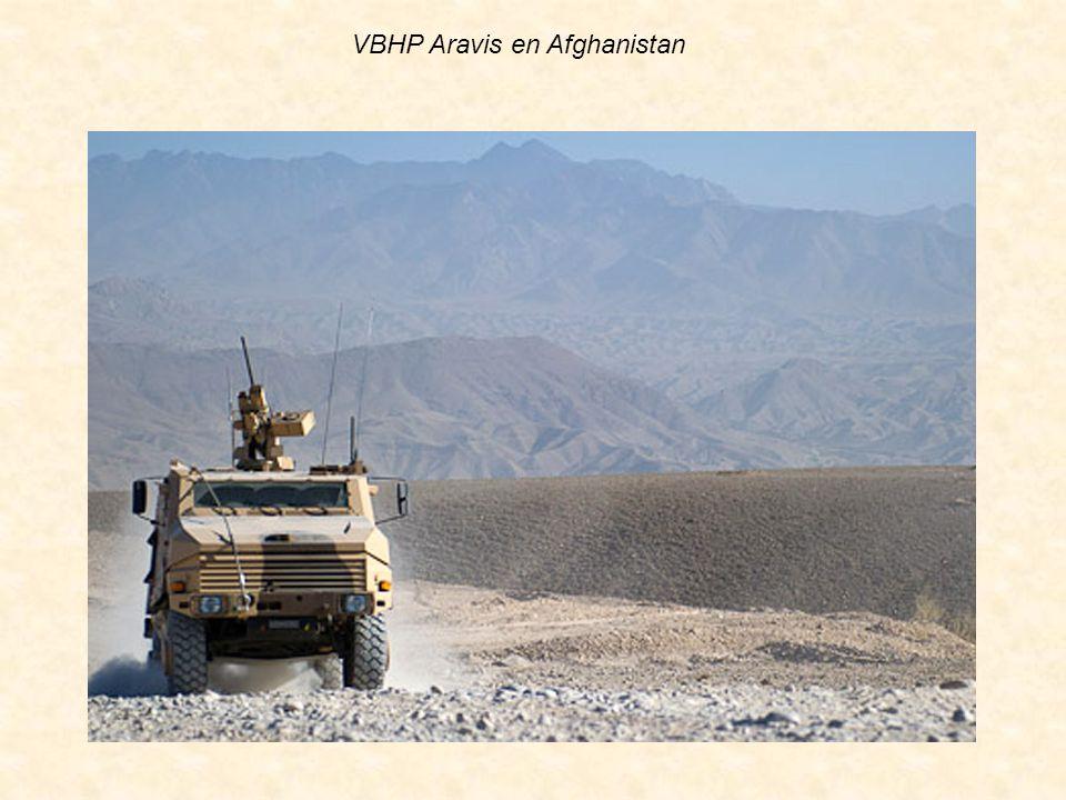 VBHP Aravis en Afghanistan