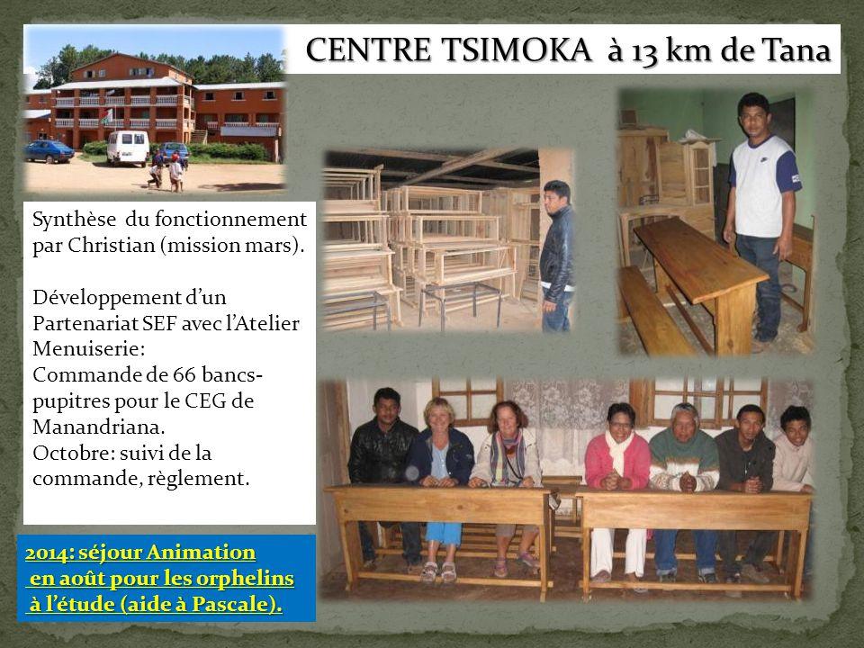 CENTRE TSIMOKA à 13 km de Tana
