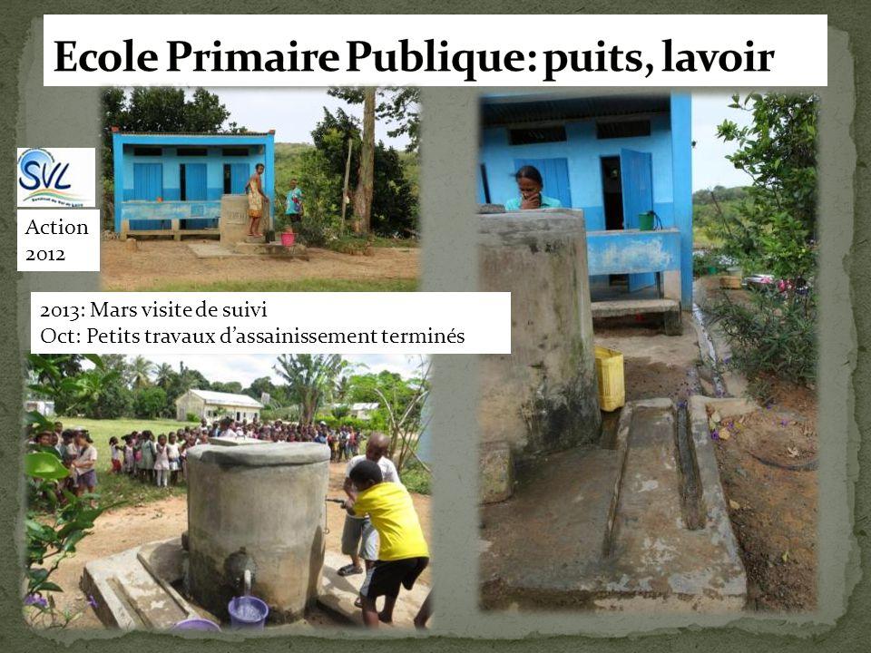 Ecole Primaire Publique: puits, lavoir