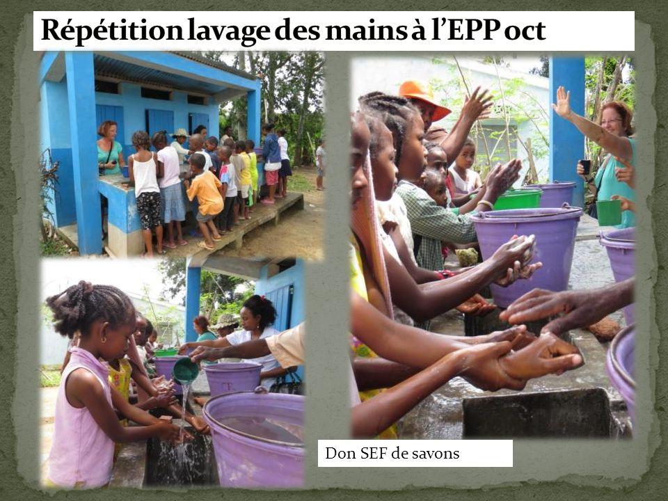 Répétition lavage des mains à l'EPP oct