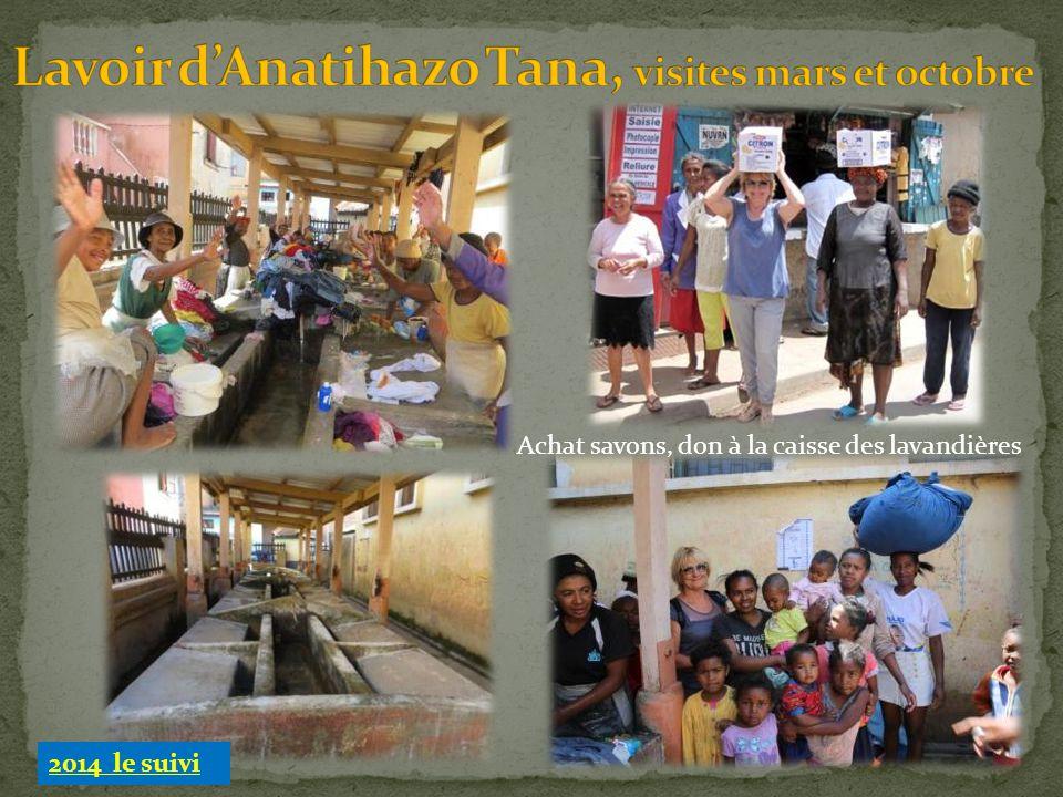 Lavoir d'Anatihazo Tana, visites mars et octobre