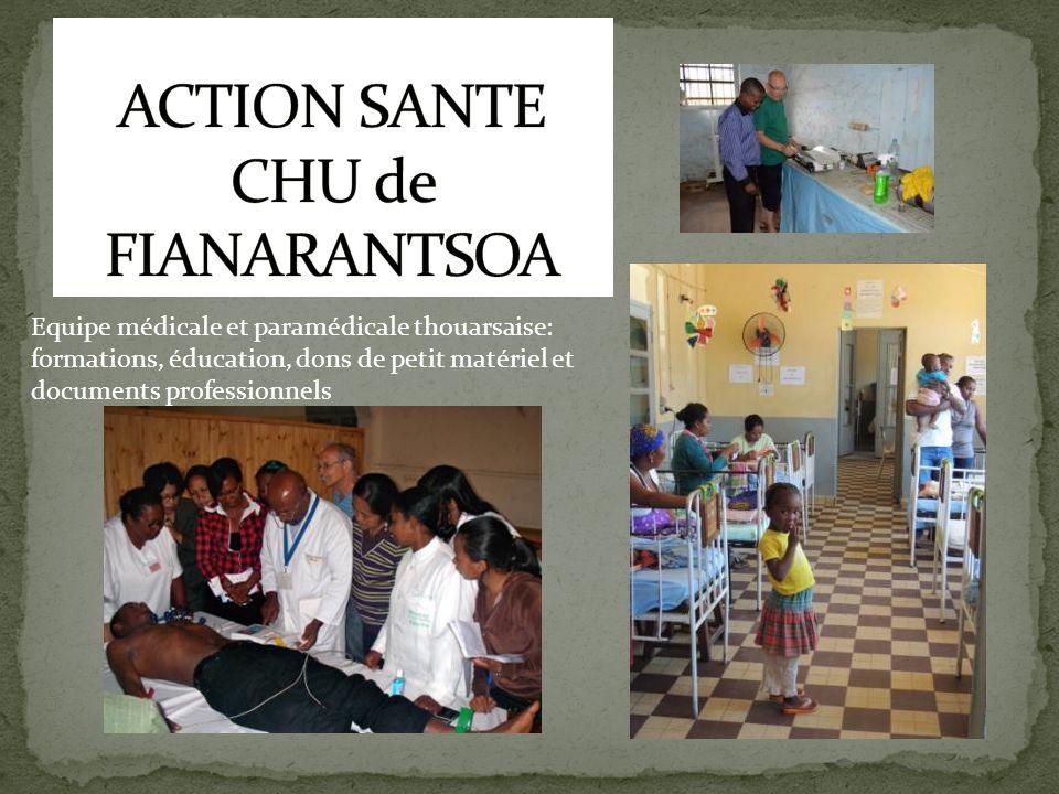 ACTION SANTE CHU de FIANARANTSOA
