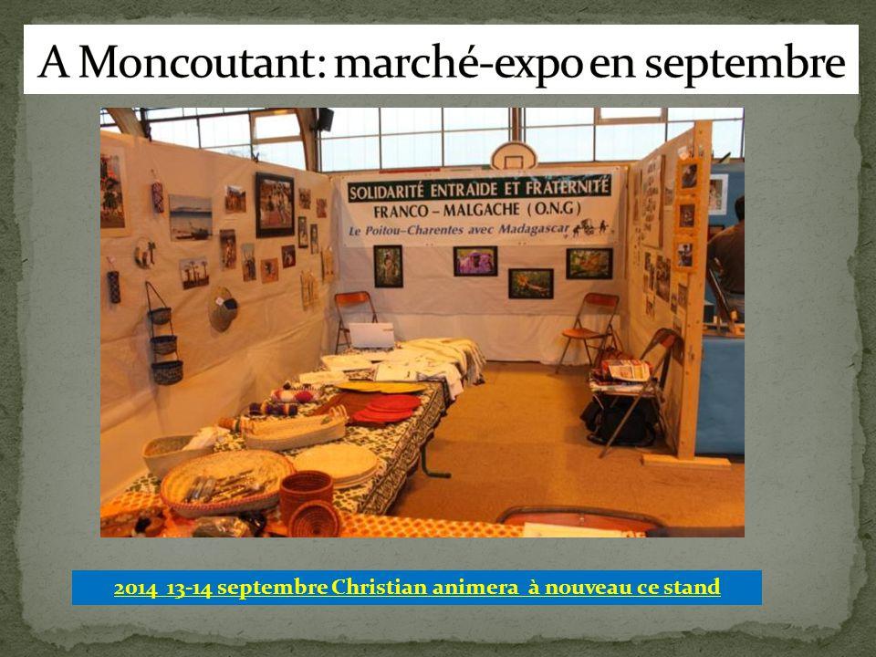 A Moncoutant: marché-expo en septembre