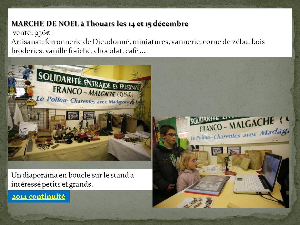 MARCHE DE NOEL à Thouars les 14 et 15 décembre