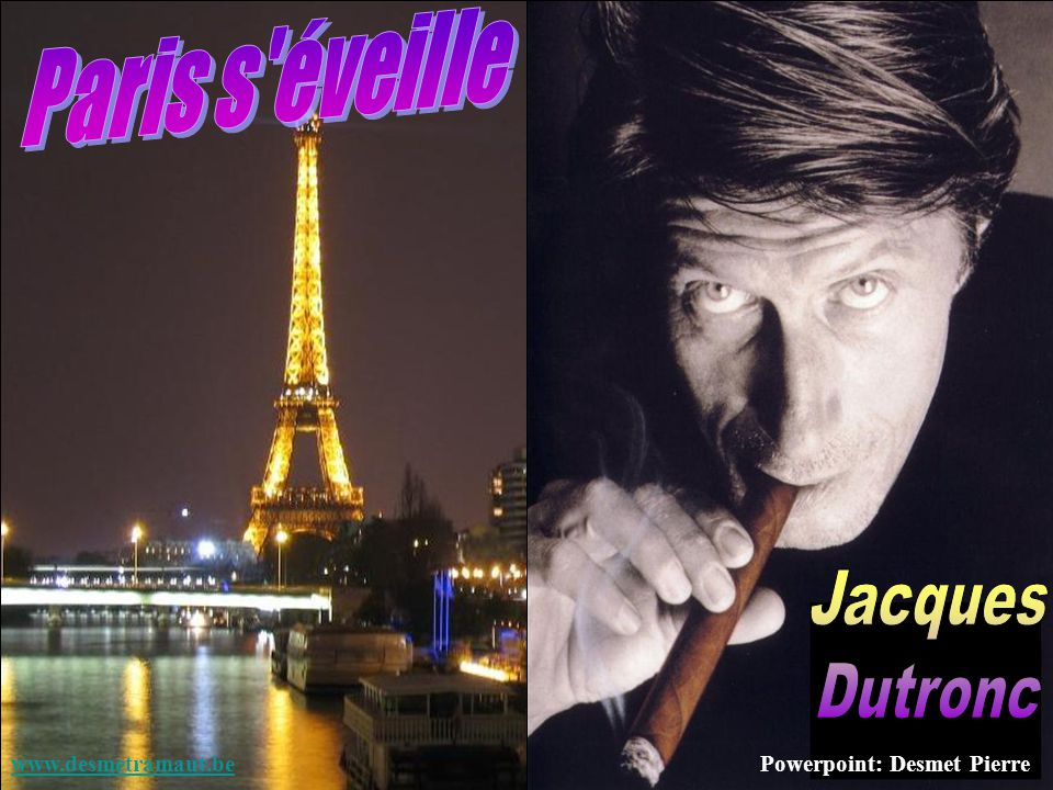Paris s éveille Jacques Dutronc