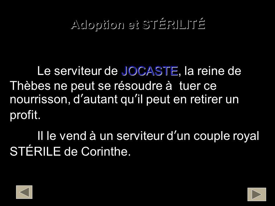 Adoption et STÉRILITÉ