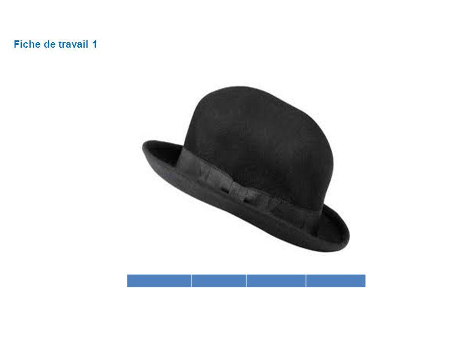 Fiche de travail 1 Chapeau