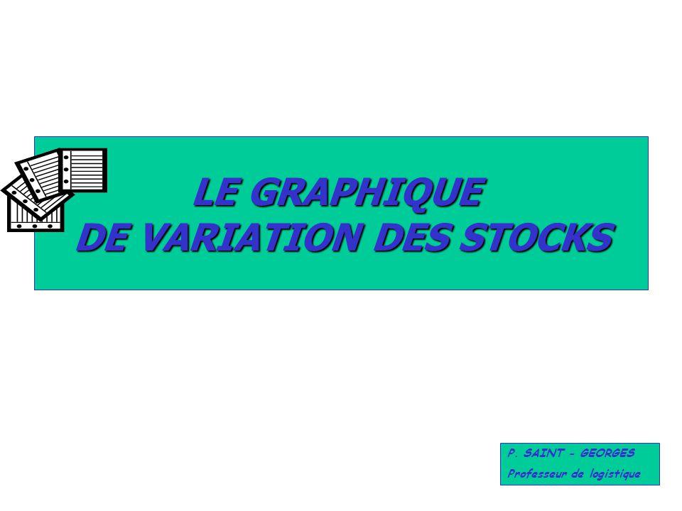 DE VARIATION DES STOCKS