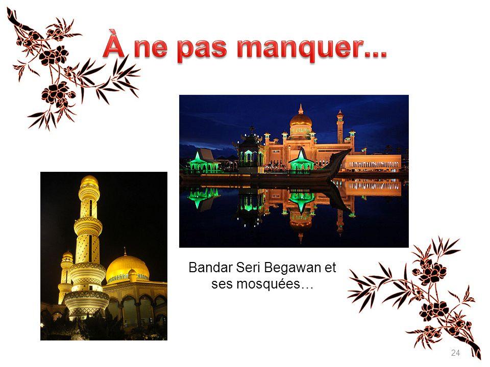 Bandar Seri Begawan et ses mosquées…