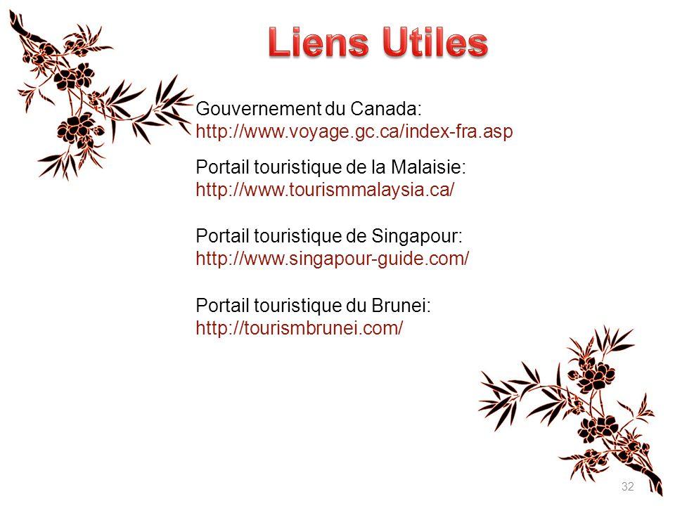 Liens Utiles Gouvernement du Canada: