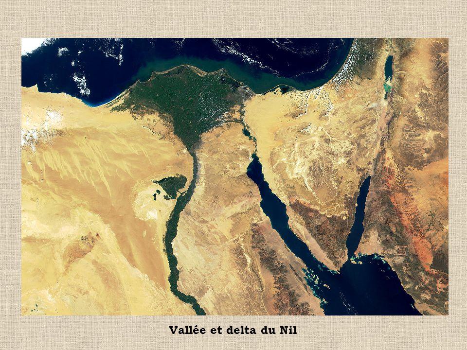 Vallée et delta du Nil