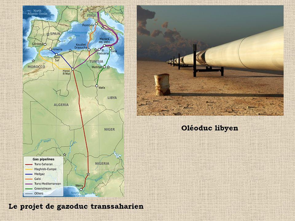 Le projet de gazoduc transsaharien