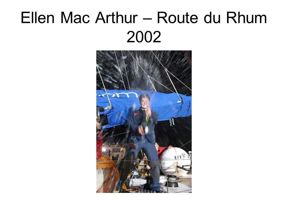 Ellen Mac Arthur – Route du Rhum 2002