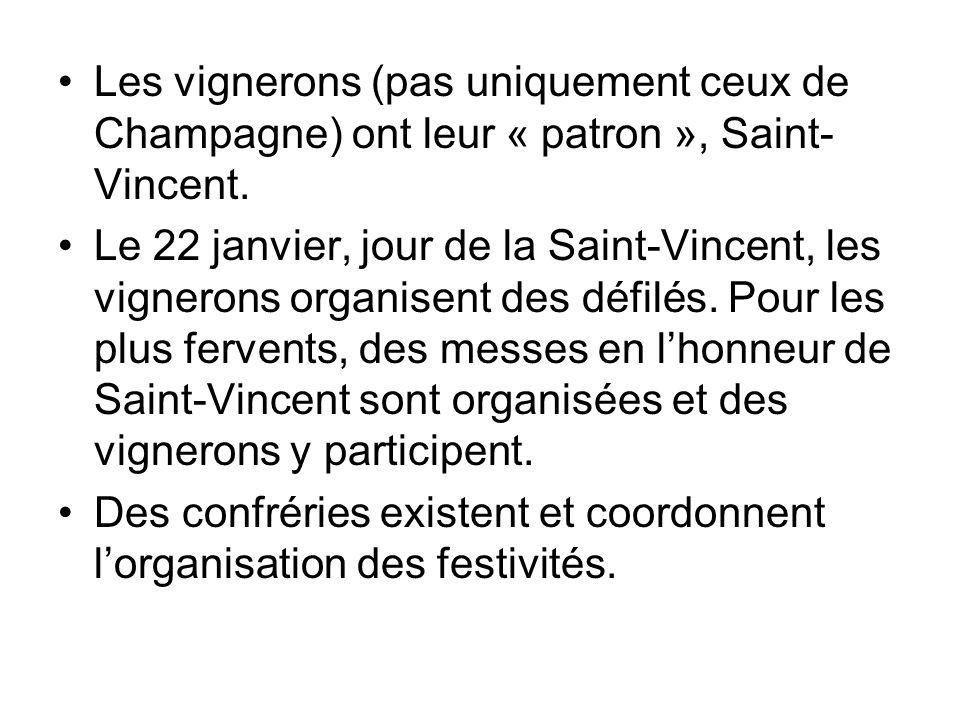 Les vignerons (pas uniquement ceux de Champagne) ont leur « patron », Saint-Vincent.