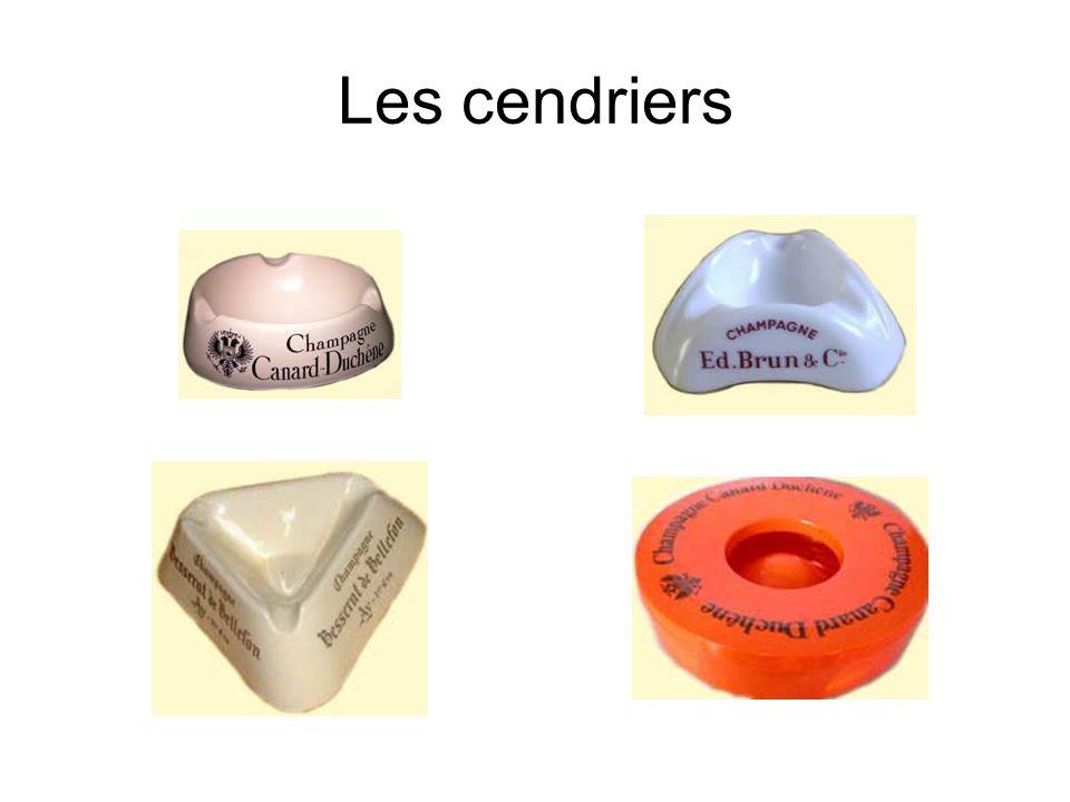 Les cendriers