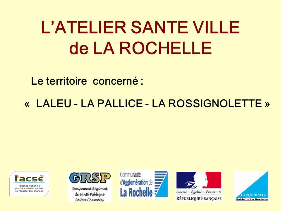 L'ATELIER SANTE VILLE de LA ROCHELLE