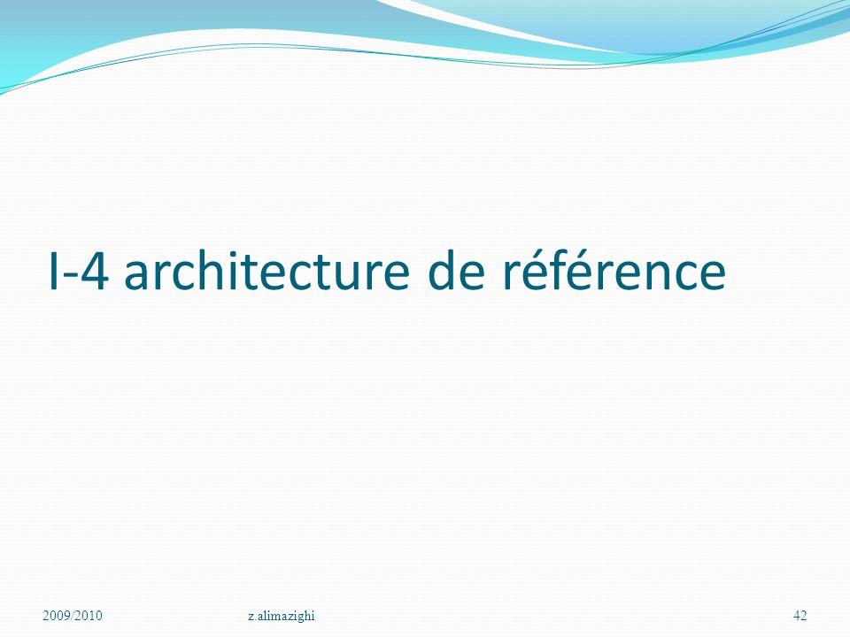 I-4 architecture de référence