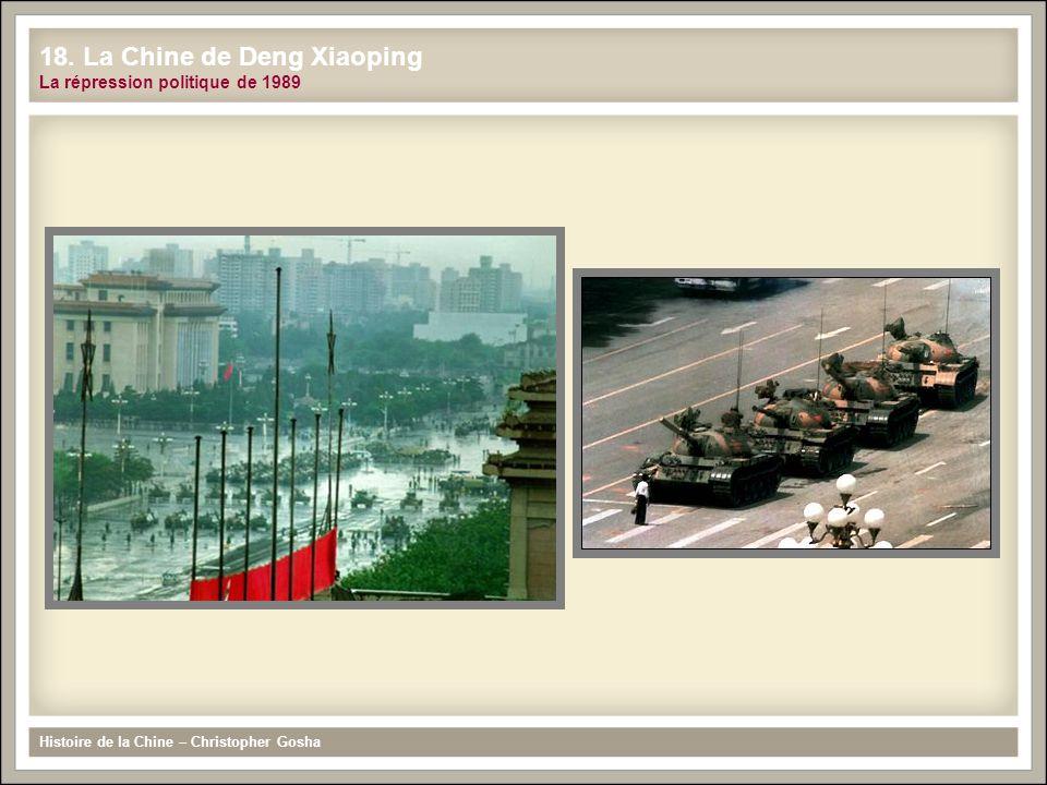 18. La Chine de Deng Xiaoping La répression politique de 1989