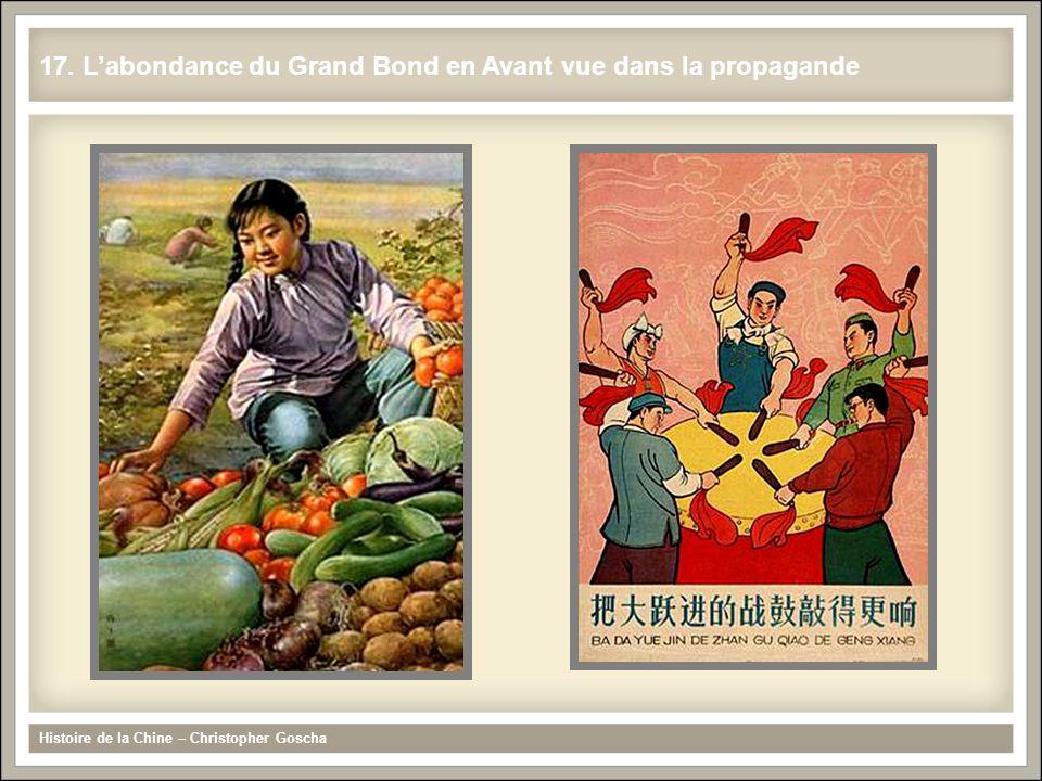 17. L'abondance du Grand Bond en Avant vue dans la propagande