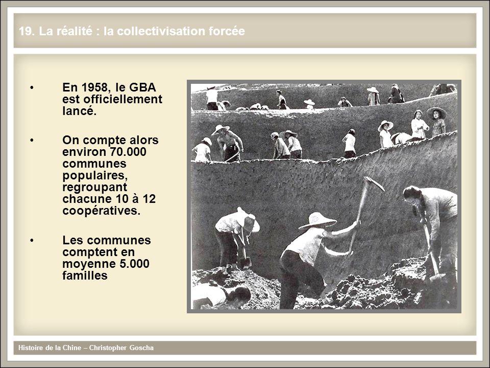 19. La réalité : la collectivisation forcée