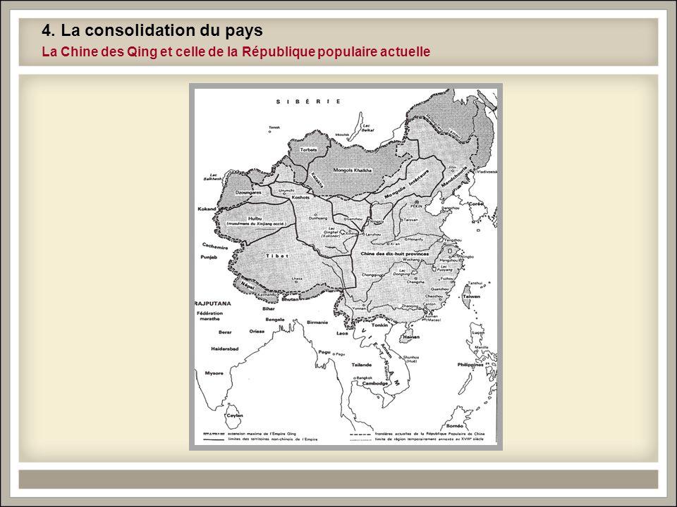 4. La consolidation du pays