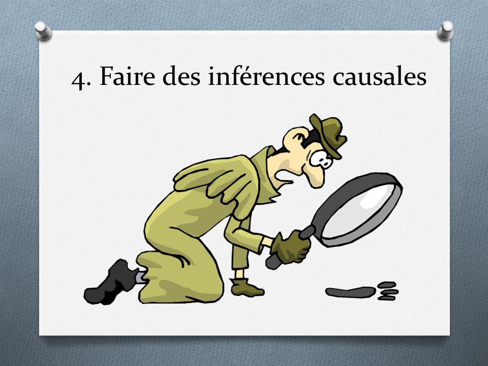 4. Faire des inférences causales