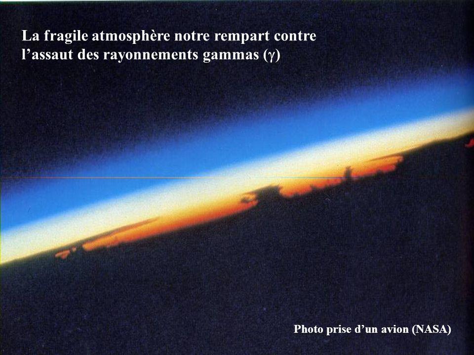 La fragile atmosphère notre rempart contre l'assaut des rayonnements gammas ()
