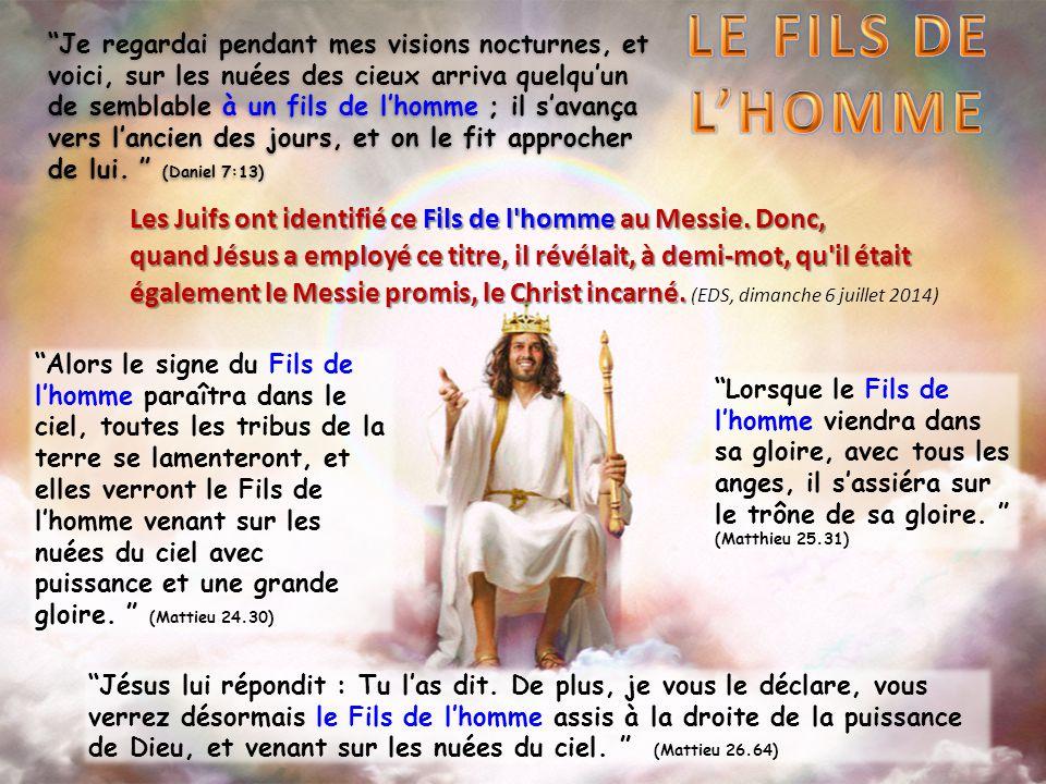 LE FILS DE L'HOMME