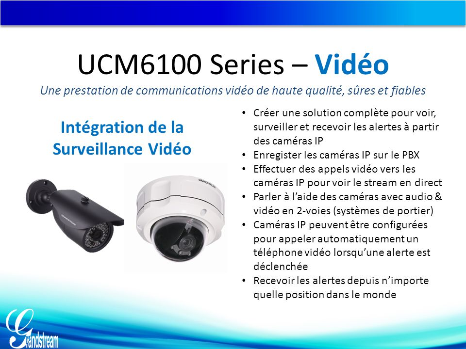 Intégration de la Surveillance Vidéo