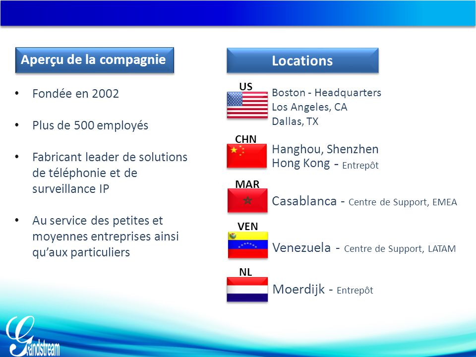 Hanghou, Shenzhen - Entrepôt Locations Aperçu de la compagnie
