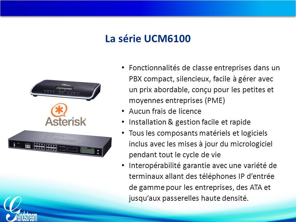 La série UCM6100