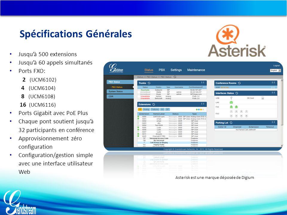 Asterisk est une marque déposée de Digium