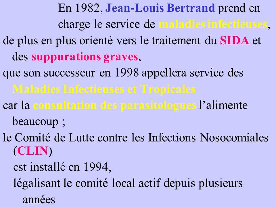 En 1982, Jean-Louis Bertrand prend en