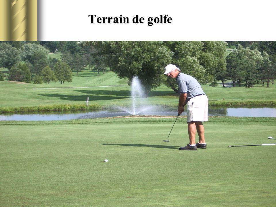 Terrain de golfe