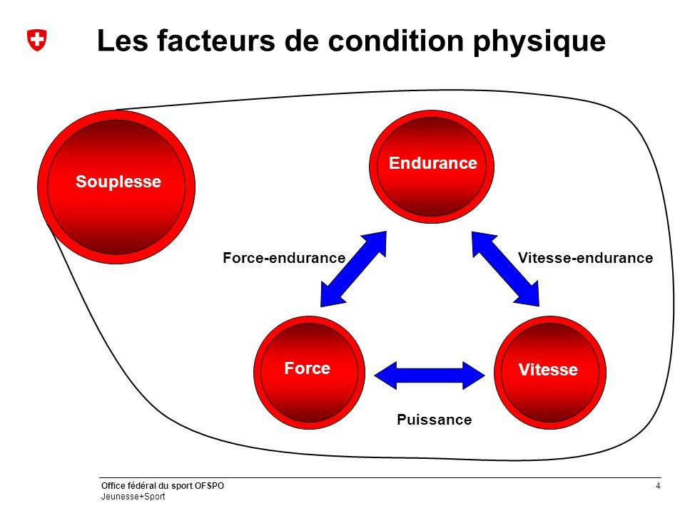 Les facteurs de condition physique