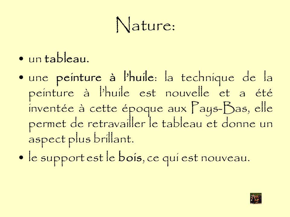 Nature: un tableau.