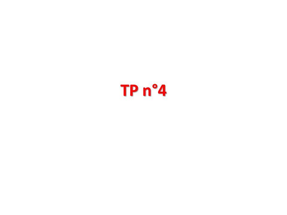 TP n°4