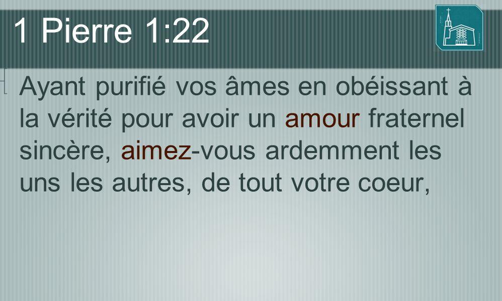 1 Pierre 1:22
