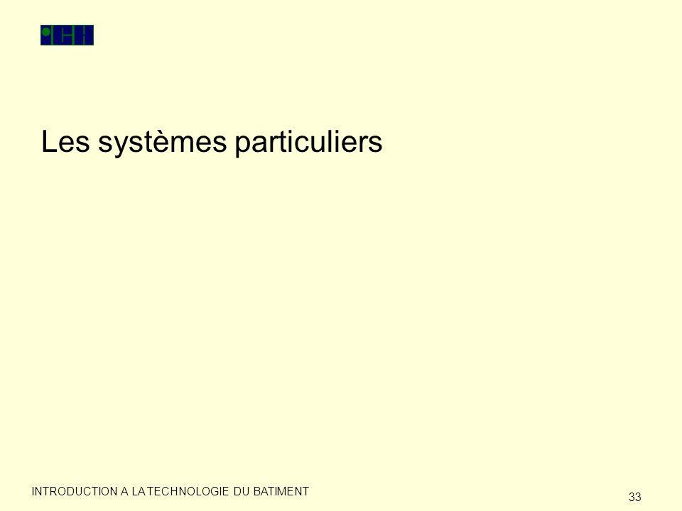 Les systèmes particuliers
