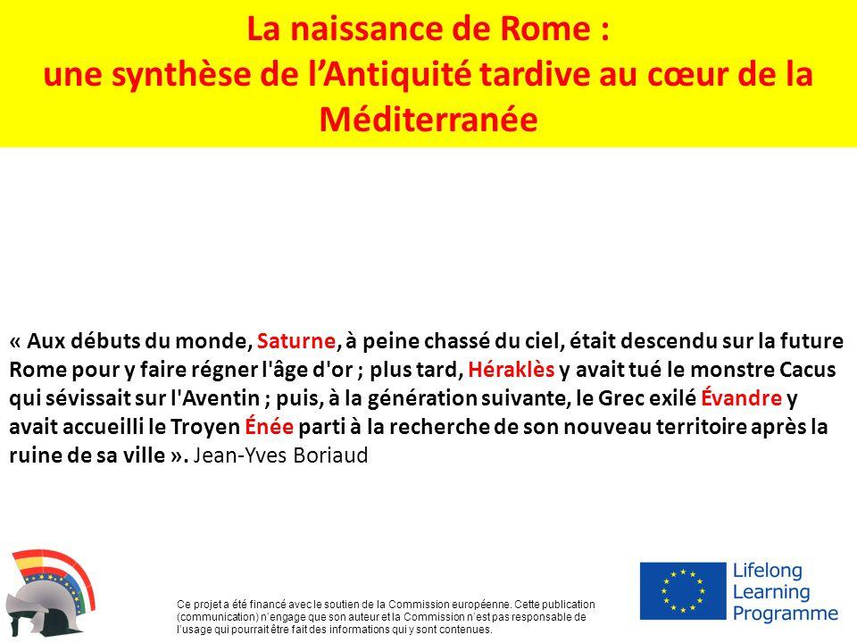 une synthèse de l'Antiquité tardive au cœur de la Méditerranée