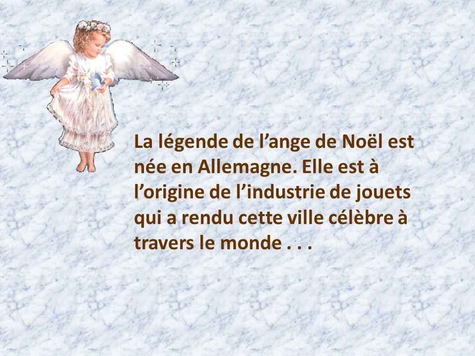 La légende de l'ange de Noël est née en Allemagne