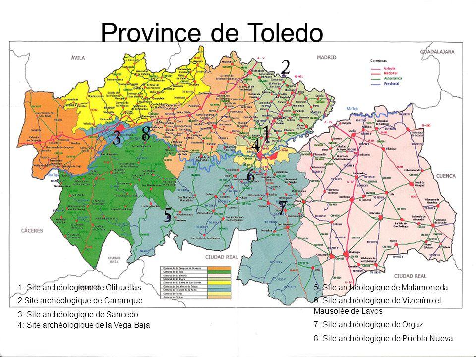 Province de Toledo 1: 1: Site archéologique de Olihuellas