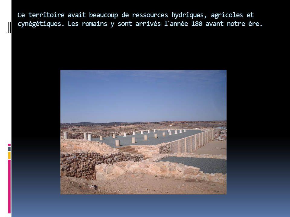 Ce territoire avait beaucoup de ressources hydriques, agricoles et cynégétiques.